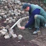 Natursteinarbeiten, Pflasterungen